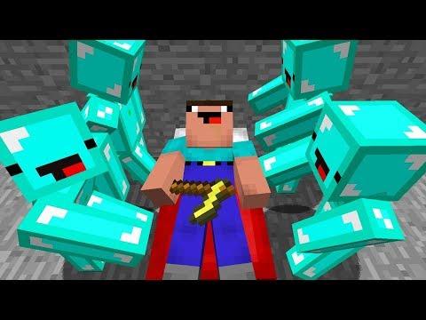 ELMAS ADAMLAR NOOB'Ü TROLLÜYOR! - Minecraft