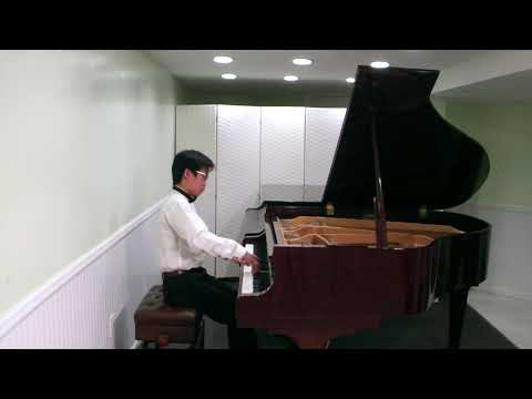 Tian Song Musical Arts Student Edward Mo Plays Chopin Nocturne In E-Flat Major, Op. 9 No. 2