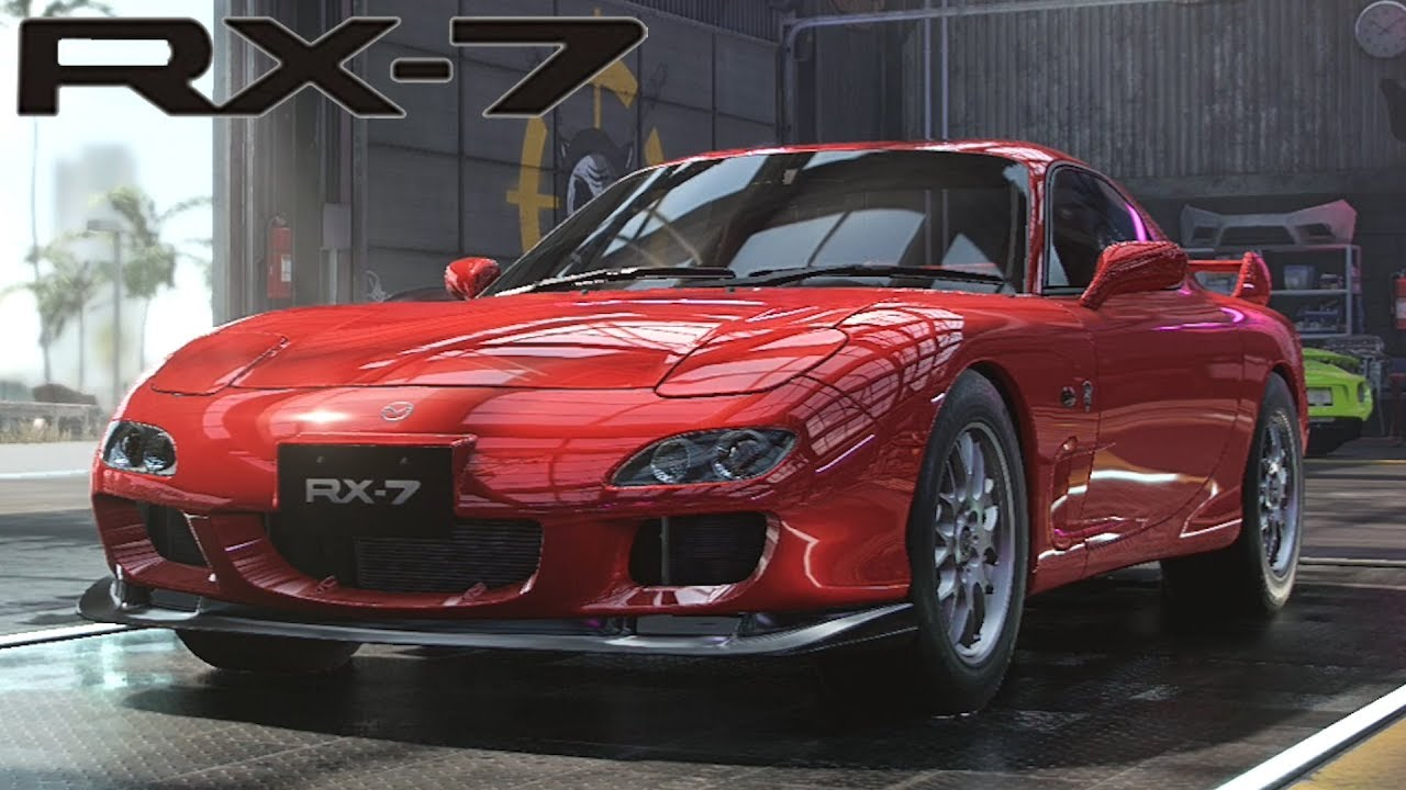 Need For Speed Heat - Mazda Rx-7