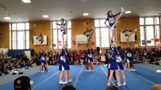 Brooklyn Tech Coed Varsity Cheerleading's 1st Place Performance 2014