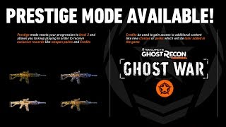 Prestige Mode, Ranked Play & Post Launch Content   Ghost Recon Wildlands