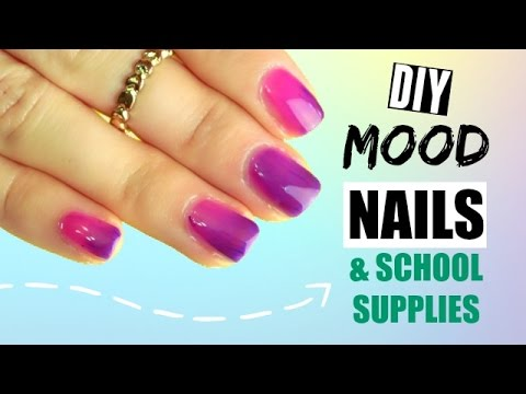 DIY Color Changing Nail Polish, Notebooks, and Pens ☾✩ REALLY ...