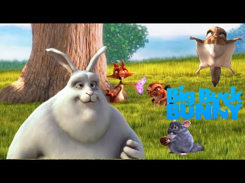 การ์ตูน Big Buck Bunny แอนิเมชั่น