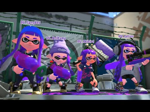 9 Minutes of Splatoon 2 Gameplay - E3 2017