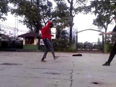 shuffle & jumpstyle (amatiran)