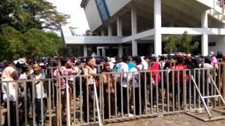 Audisi Pertama X Factor Indonesia Medan 2015   Gedung Unimed