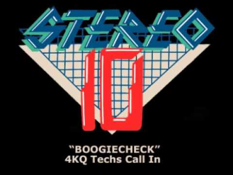 Brisbane Radio History: STEREO 10 BOOGIECHECK - 4KQ Techs Call In