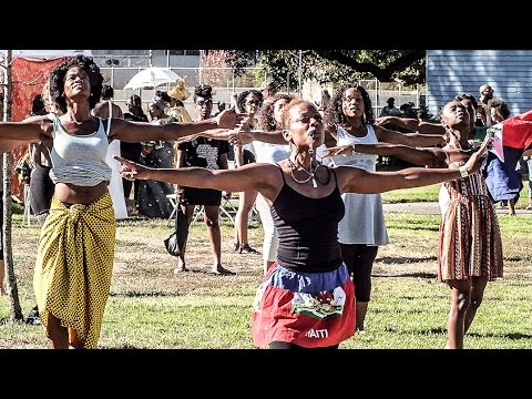 Dance Is Life: Africa In Oakland | Life Is Living Festival Haitian Folklore Dance