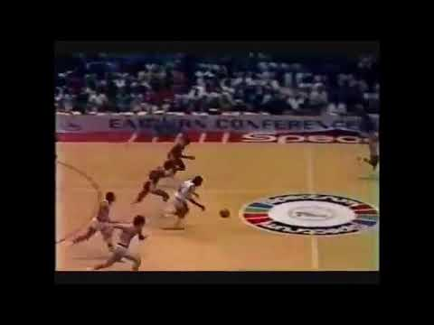 Dr. J in the 1982 NBA Finals