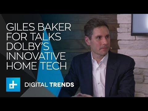 Giles Baker SVP, Consumer Entertainment Group, Dolby Booth Interview CES 2018
