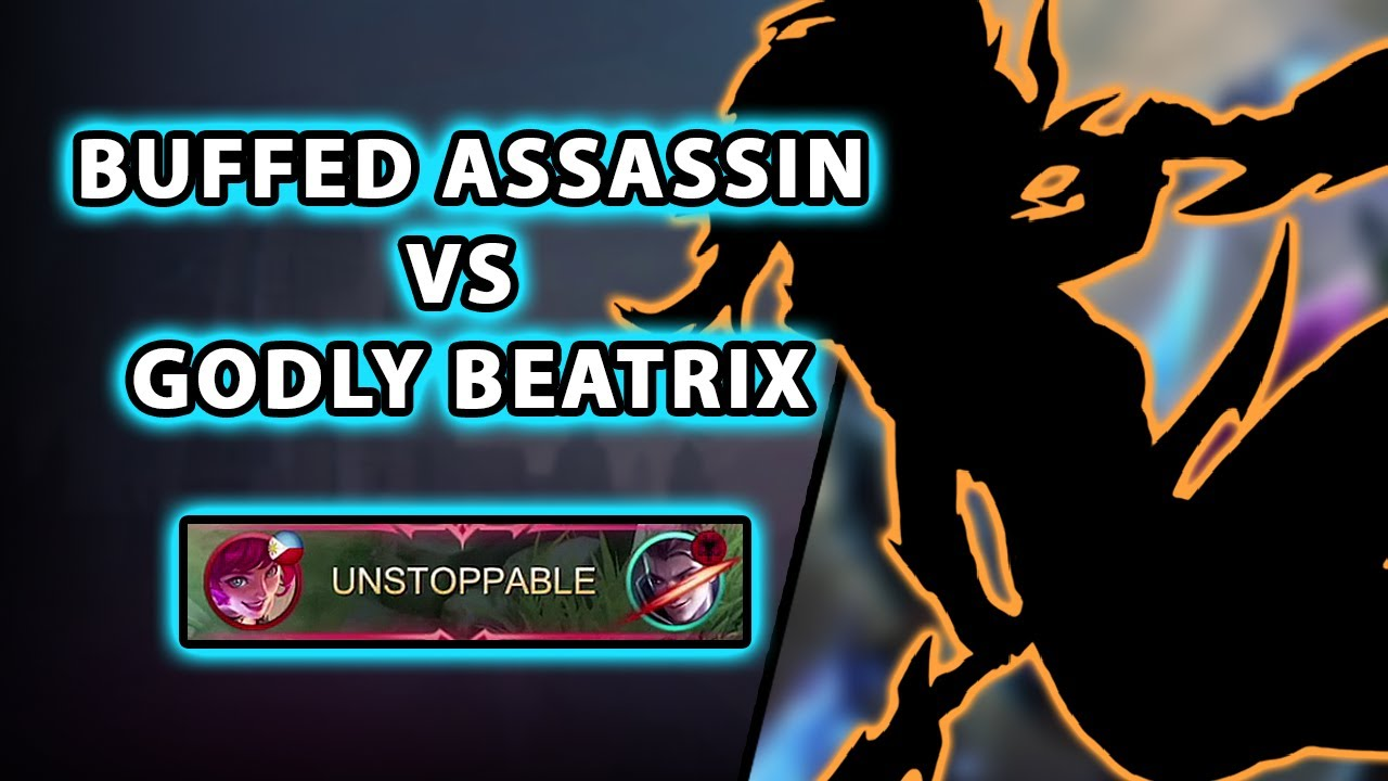 This assassin got buffed but we were facing a godly Beatrix | Mobile Legends