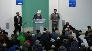 Проповедь Хазрата Мирзы Масрура Ахмада (24-01-2020)