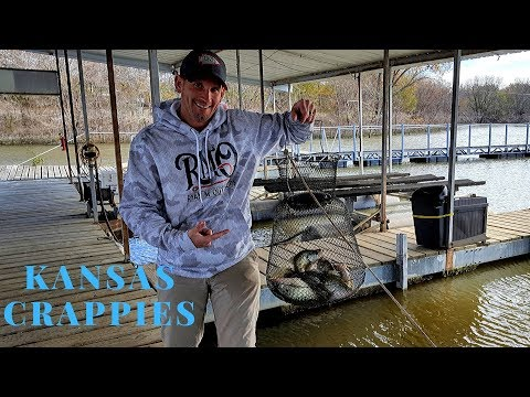 Kansas Crappie (LOTS Of KEEPERS)