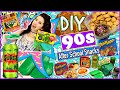 Back To School: DIY 90s After School Snacks! | DIY Dunkaroos, Surge, Lunchables & More!