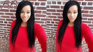 "AUTHENTIC Pre Stretched Loop Senegalese Twists 22"" Crochet Braids 