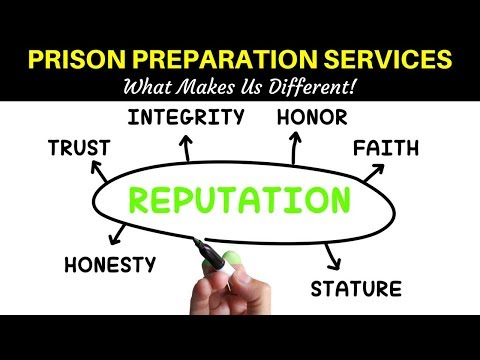 PRISON PREPARATION - We Offer Best Services In The Industry!