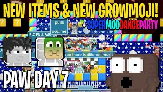 SUPERMODDANCEPARTY NEW ITEMS NEW GROWMOJI TOUSLED HAIR SICK MASK Growtopia