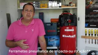 Review Compressor De Ar Vertical Einhell TH-AC 200/30 OF