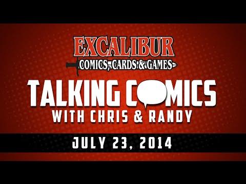 Talking Comics for 07.23.14 - Batman Day 2014, Ragnarok #1, Storm #1, Supreme: Blue Rose #1 & More!