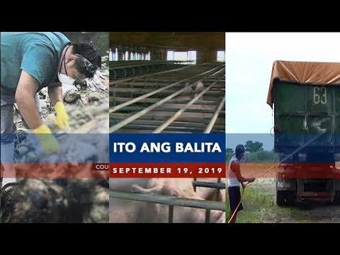 UNTV: Ito Ang Balita (September 19, 2019)