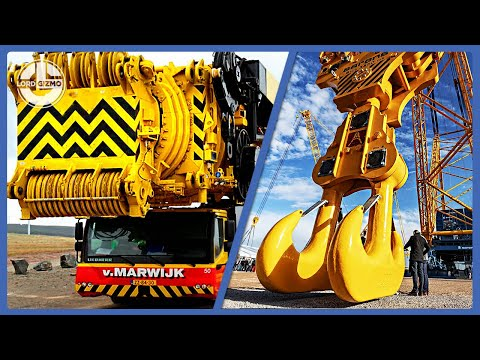 World's Most Powerful Mobile Cranes Along With The Biggest Crane On The Planet Earth!