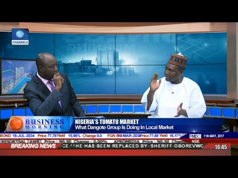 Discussing What FG's New Tomato Policy Was All About With Sani Dangote Pt 3