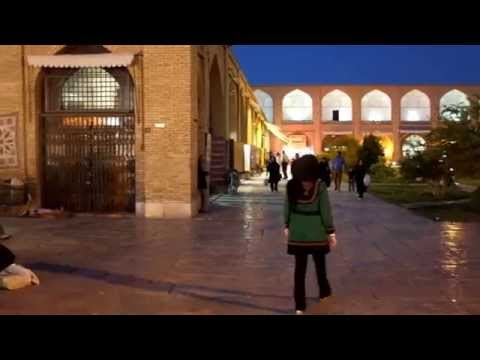 Evening In Isfahan's Naqsh-e Jahan Square