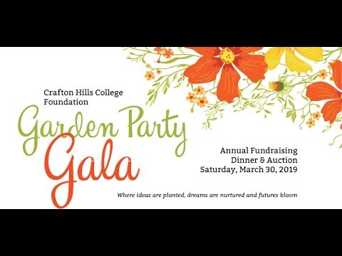 Crafton Hills College Foundation 2019 Garden Party Gala