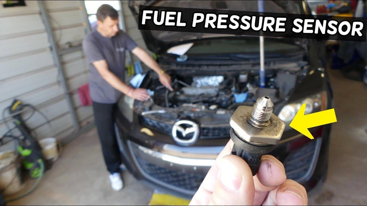 Fuel Rail Pressure Sensor Location Replacement Mazda Cx 7 Mazdaspeed 3 6 2 3 Cx7 Youtube