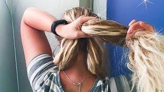 СОБРАННЫЕ ПРИЧЕСКИ В ШКОЛУ 2018 на вьющиеся волосы. BACK TO SCHOOL HAIRSTYLES