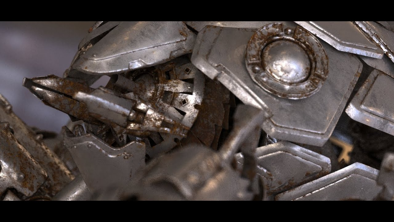 Creating a realistic rusty metal material with V-Ray 3.3 (no audio ...