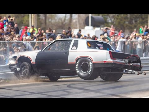 "Street Outlaws ""The Cutty"" WRECKS in No Prep Race"