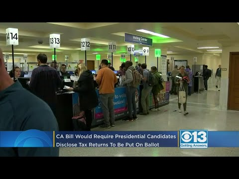 presidential-candidates-would-need-to-disclose-tax-returns-to-get-on-ca-primary-ballot