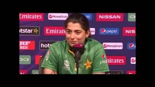 Pakistani  women cricketers like virat while captain sana mir like Dhoni