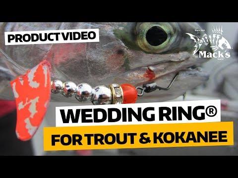 WEDDING RING® SPINNER   50-year Trout, Kokanee & Salmon Favorite