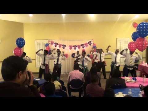 Gopi S Baby Shower 2015 Boys Dance Youtube
