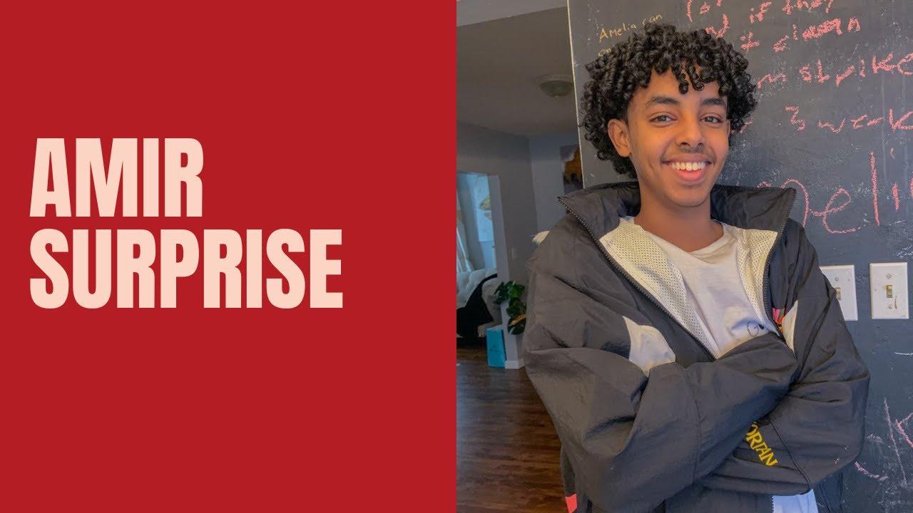 Surprise for Amir | Somali Family