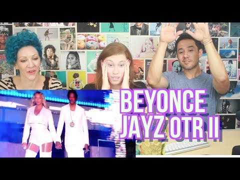 BEYONCE & JAY-Z - On the Run II Tour - Opening / Holy Grail - REACTION!