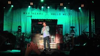 Max Herre - Jeder Tag Zuviel (Live@Made in Germany Festival - 2013 in Osterburg)