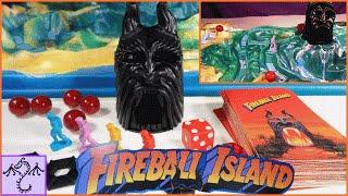 Most Impressive Board Game: 1986 Fireball Island