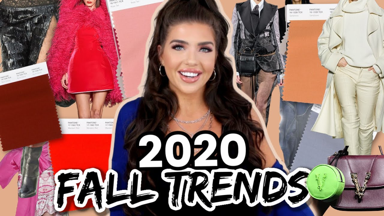 FALL TRENDS 2020 | Top Fall 2020 Fashion Trends | Fall/Winter Style 2020-2021