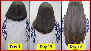 Super Easy Hair Hacks & Hair Care Tips to Get Long, Thick ,Healthy & Beautiful Hair