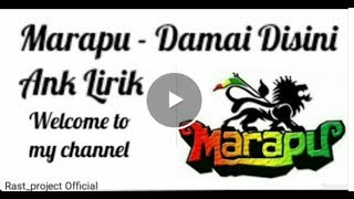Marapu - damai di sini and lirik