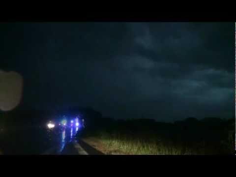 Mega thunderstorm hits Eastern Denmark, July 2nd 2011