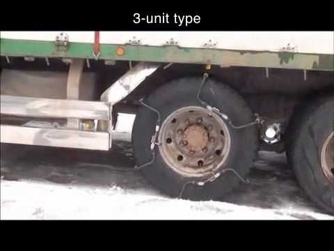 Amazing New Tire Chain Ideal For Heavy Duty Trucks