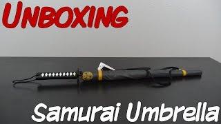 Unboxing - Tokugawa Ieyasu Sengoku Umbrella