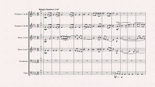 Juliet's funeral - ballet 'Romeo and Juliet' - S. Prokofiev - for brass sextet and percussion