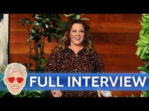 Melissa McCarthys Full Interview with Ellen