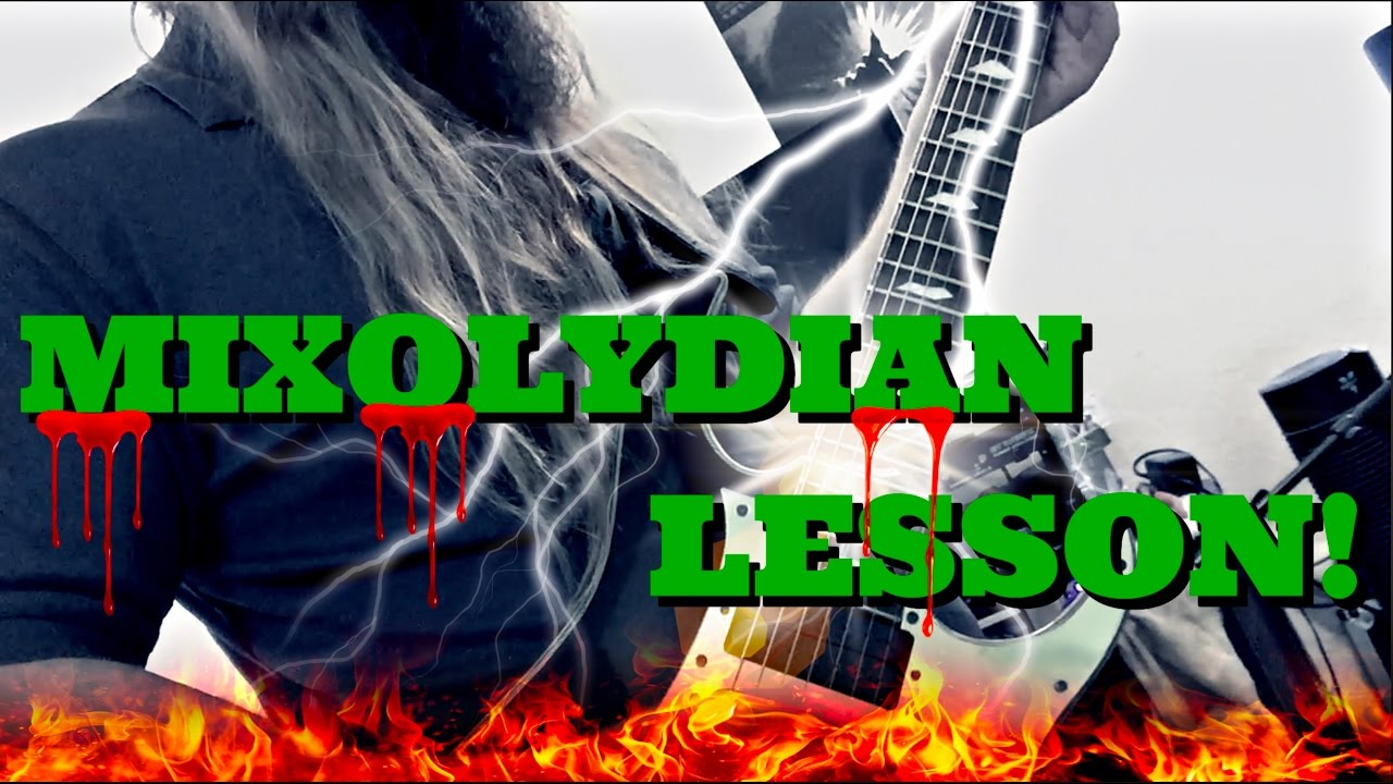 mixolydian mode shred guitar lesson music theory bootcamp youtube. Black Bedroom Furniture Sets. Home Design Ideas