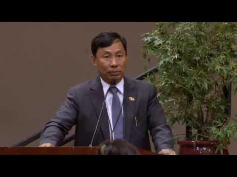 SF Bay Area Myanmar Community Meets Thura Shwe Mann & Delegation Myanmar Pyithu Hluttaw # 2